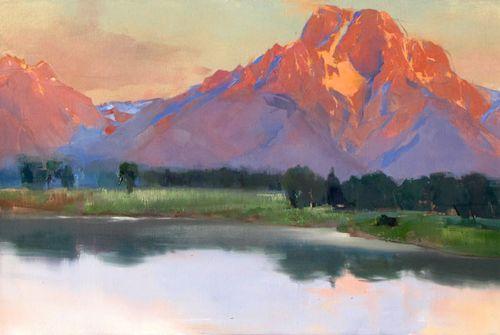 Moran-sunrise -KathrynMapesTurner