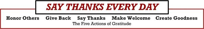 Five Actions Gratitude- horizontal