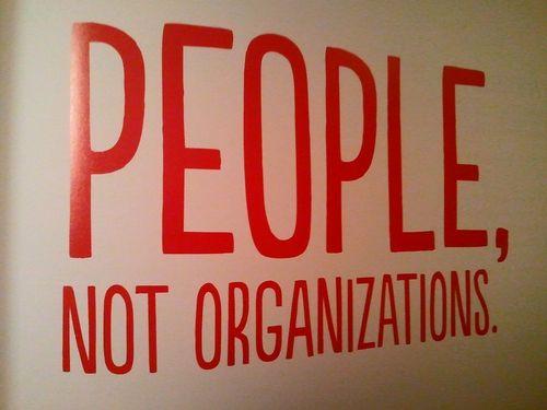 PeopleNotOrganizations