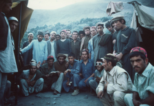 Mujahideen camp - Chitral