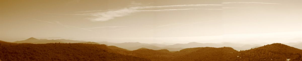 Over Graveyard Fields - Sepia